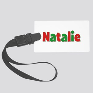 Natalie Christmas Large Luggage Tag
