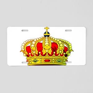 Royal Crown 11 Aluminum License Plate