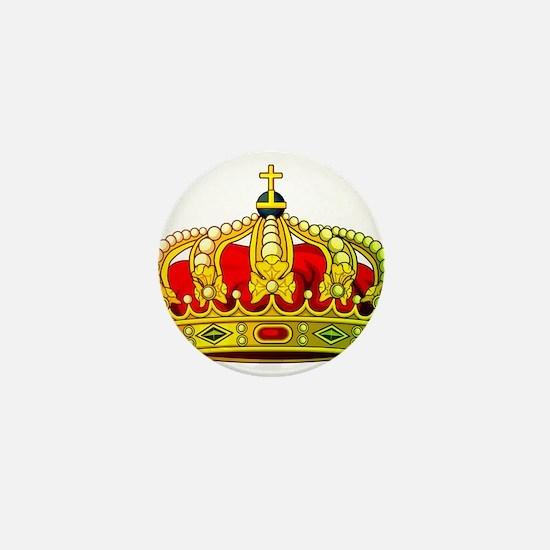 Royal Crown 11 Mini Button