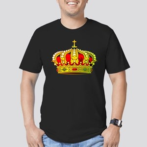 Royal Crown 11 Men's Fitted T-Shirt (dark)