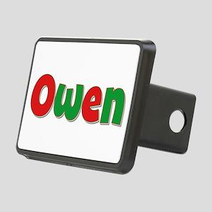 Owen Christmas Rectangular Hitch Cover
