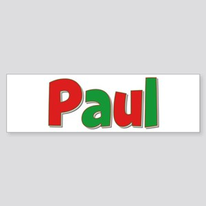 Paul Christmas Bumper Sticker