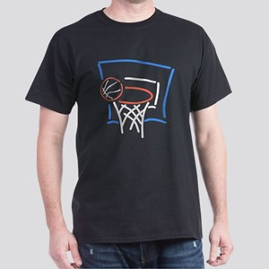 Neon Basketball Dark T-Shirt