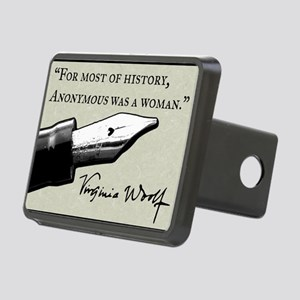 Anonymous Was a Woman Rectangular Hitch Cover