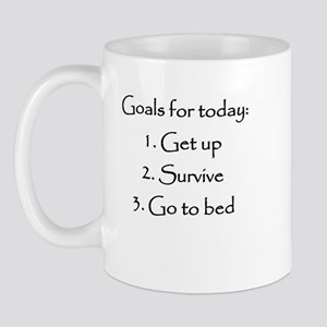 Goals for today Mugs