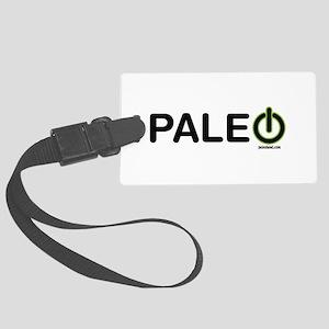 Paleo Power Horizontal Large Luggage Tag