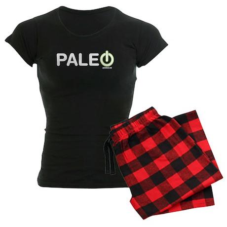 Paleo Power Horizontal Women's Dark Pajamas