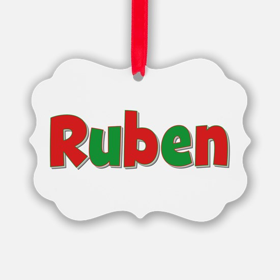Ruben Christmas Ornament