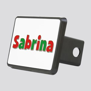 Sabrina Christmas Rectangular Hitch Cover