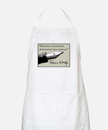 Anonymous Was a Woman Apron