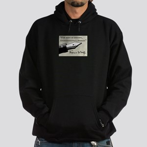 Anonymous Was a Woman Hoodie (dark)