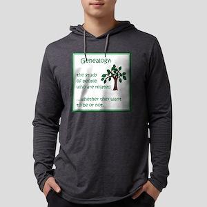 GenealogyStudy Mens Hooded Shirt
