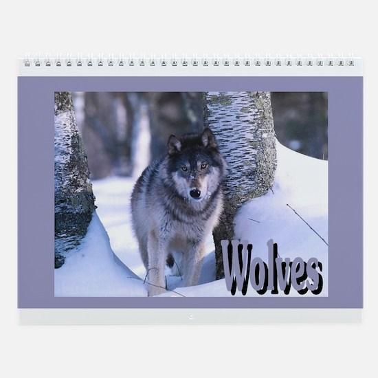 """""""Wolves"""" Wall Calendar"""