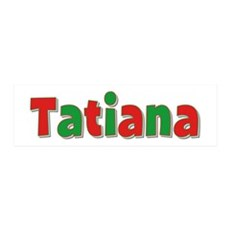 Tatiana Christmas 36x11 Wall Peel