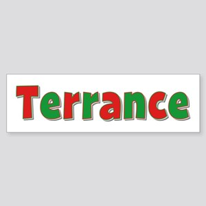 Terrance Christmas Bumper Sticker
