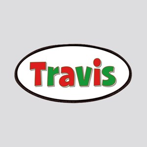 Travis Christmas Patch