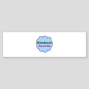 Kindness Pass It On Sticker (Bumper)