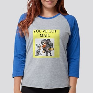funny fantasy youve got mail j Womens Baseball Tee