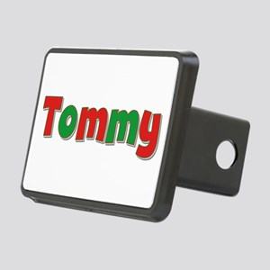 Tommy Christmas Rectangular Hitch Cover