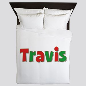 Travis Christmas Queen Duvet