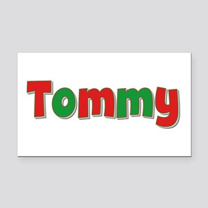 Tommy Christmas Retangular Car Magnet
