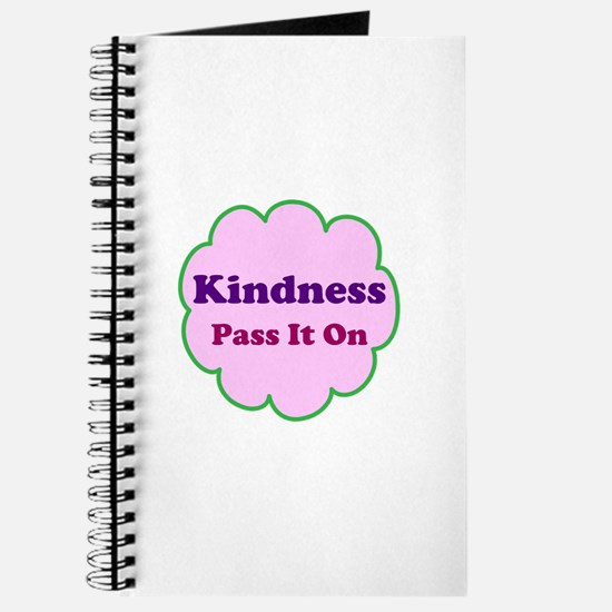Pink Kindness Pass It On Journal