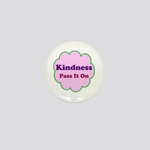 Pink Kindness Pass It On Mini Button