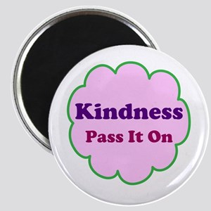 Pink Kindness Pass It On Magnet