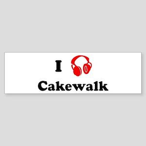 Cakewalk music Bumper Sticker