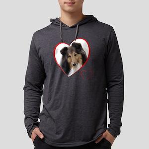 CaseyLovePlain Mens Hooded Shirt