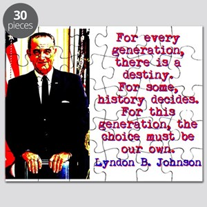 For Every Generation - Lyndon Johnson Puzzle