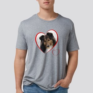 CaseyLovePlain Mens Tri-blend T-Shirt