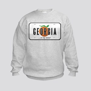 Georgia Plate Kids Sweatshirt