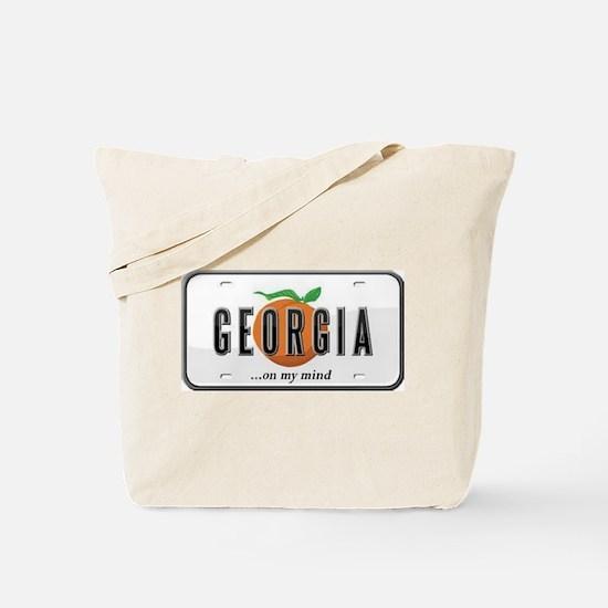 Georgia Plate Tote Bag