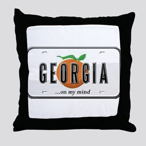 Georgia Plate Throw Pillow