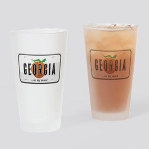 Georgia Plate Drinking Glass