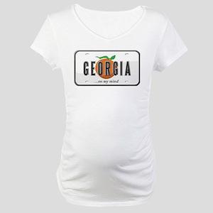 Georgia Plate Maternity T-Shirt
