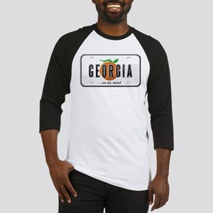 Georgia Plate Baseball Jersey