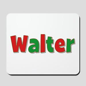 Walter Christmas Mousepad