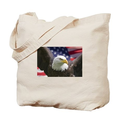 BALD EAGLE -usa pride- Tote Bag