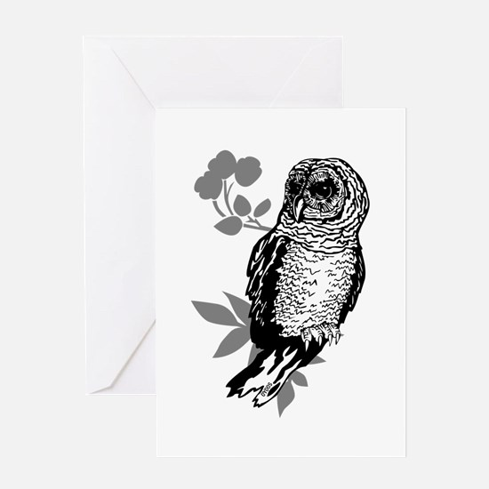 OYOOS Owl design Greeting Card