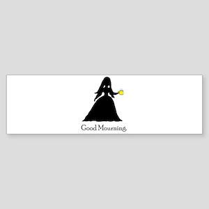 GoodMourning1 Sticker (Bumper)