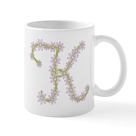Monogram k Mug