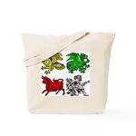 Landvættir History Tote Bag