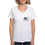 DizFanatic Women's V-Neck T-Shirt