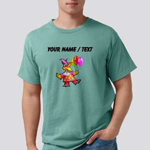 Custom Clown Bird Mens Comfort Colors Shirt