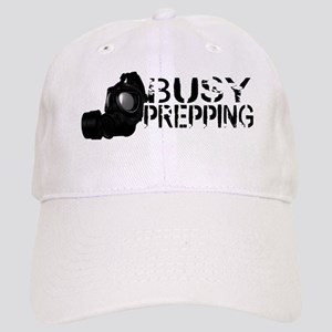 Busy Prepping Gas Mask Cap