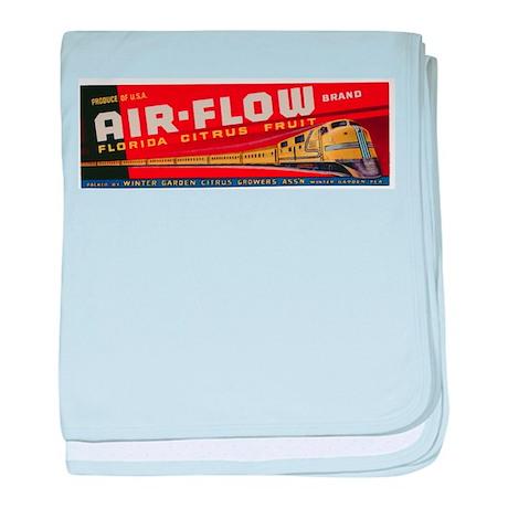 Vintage Airflow Florida Cirtus Fruit Crate Label b