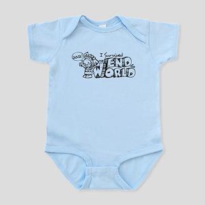Survived the End 2012 Infant Bodysuit