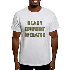 Masonic Heavy Equipment Operator T-Shirt